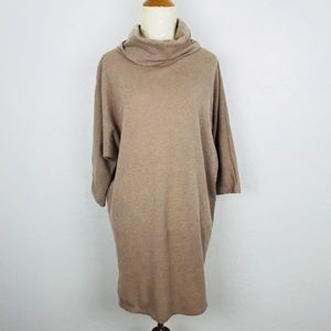 EVERLY Tan Sweater-Dress size S           E5